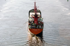 Navio de carga GULIZAR ANA Foto de Stock Royalty Free