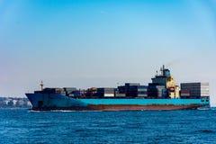 Navio de carga no Mar Negro Imagem de Stock