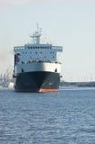 Navio de carga no porto Foto de Stock Royalty Free