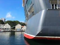 Navio de cruzamento em Stavanger Imagem de Stock Royalty Free