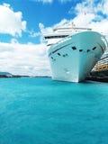 Navio de cruzeiros Fotografia de Stock Royalty Free