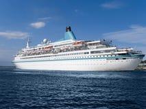 Navio de cruzeiros Imagem de Stock Royalty Free