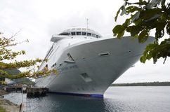 Navio de cruzeiros. Imagem de Stock