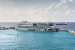 Navio de cruzeiros de Aida Diva fotografia de stock