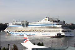 Navio de cruzeiros Aida Luna imagem de stock royalty free