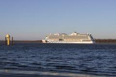 Navio de cruzeiros AIDAperla Imagem de Stock