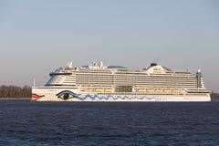 Navio de cruzeiros AIDAperla Fotografia de Stock Royalty Free