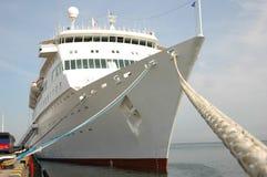 Navio de cruzeiros amarrado Foto de Stock Royalty Free