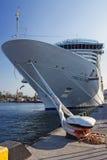 Navio de cruzeiros Costa Deliziosa imagens de stock royalty free