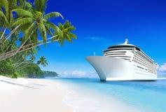 navio de cruzeiros 3D Fotos de Stock Royalty Free