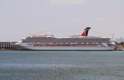 Navio de cruzeiros da liberdade do carnaval Fotografia de Stock Royalty Free