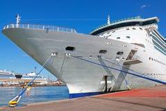 Navio de cruzeiros das férias Fotos de Stock Royalty Free