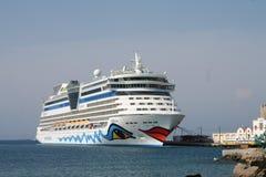 Navio de cruzeiros de AIDA Imagem de Stock Royalty Free