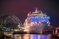 Navio de cruzeiros de Costa Luminosa Fotografia de Stock Royalty Free