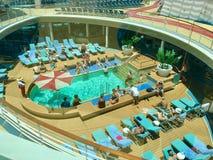 Navio de cruzeiros do Cararibe real foto de stock