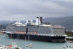 Navio de cruzeiros em Montego Bay, Jamaica Imagens de Stock