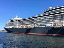 Navio de cruzeiros em Stavanger Imagem de Stock