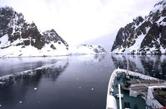 Navio de cruzeiros Gerlache Fotografia de Stock Royalty Free