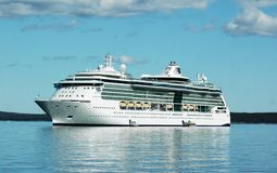 Navio de cruzeiros luxuoso Imagem de Stock Royalty Free