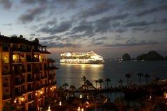 Navio de cruzeiros México Fotografia de Stock