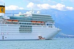 Navio de cruzeiros moderno Imagem de Stock Royalty Free