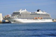 Navio de cruzeiros de Viking Sky fotos de stock royalty free