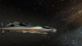 Navio de espaço ilustração do vetor