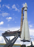 Navio de espaço de Yuriy Gagarin Fotografia de Stock