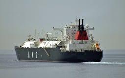 Navio de GNL para o gás natural Foto de Stock