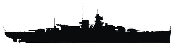 Navio de guerra Fotos de Stock