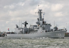 Navio de guerra Imagem de Stock Royalty Free