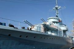 Navio de guerra Foto de Stock