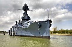 A navio de guerra foto de stock