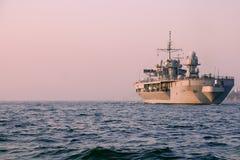 Navio de guerra Foto de Stock Royalty Free
