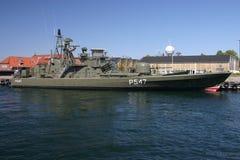 Navio de guerra de Dinamarca Imagens de Stock