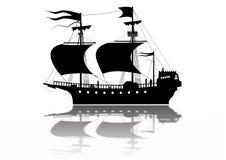 Navio de guerra de Tudor Imagens de Stock