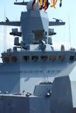 Navio de guerra do Wheelhouse Fotos de Stock Royalty Free