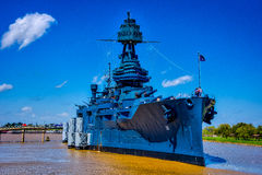 Navio de guerra Texas Fotografia de Stock