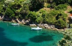 Navio de Lefkada Grécia Fotografia de Stock