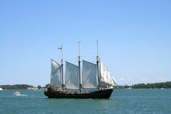 Navio de navigação Fotografia de Stock