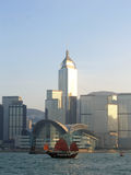 Navio de navigação & de convenção e de exposição de Hong Kong centro Imagens de Stock