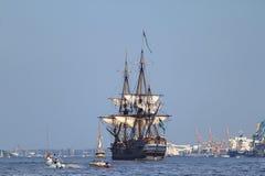Navio de navigação Fotografia de Stock Royalty Free