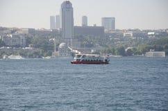 Navio de passageiro Bosphorus da cidade Fotografia de Stock