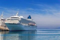 Navio de passageiro grande Fotografia de Stock Royalty Free