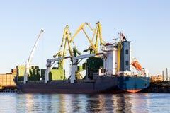 Navio de petroleiro Fotografia de Stock