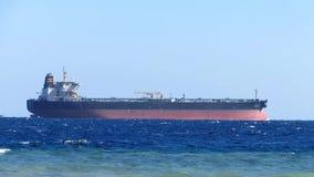 Navio de petroleiro do óleo video estoque