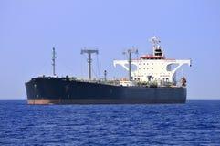 Navio de petroleiro do petróleo fotografia de stock