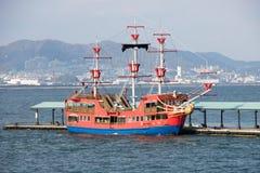 Navio de pirata japonês Foto de Stock Royalty Free