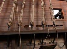Navio de piratas velho fotografia de stock royalty free