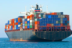 Navio de recipiente Imagem de Stock